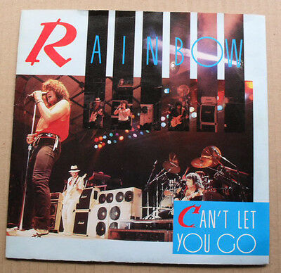 "Rainbow Can't Let You Go 7"" 1983 With All Night Long - Live Uk"