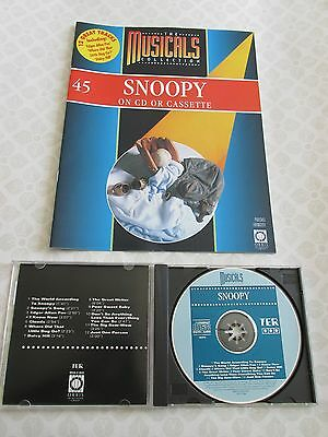 Snoopy . . . . Compact Disc With Glossy Colourful Brochure