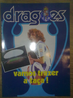 Programme (DRAGOES edition) FC PORTO - BAYERN MUNCHEN - European Cup Final 1987