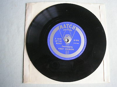 """FIRST DIVISION Up The Boro UK 7"""" single 1974 ex MIDDLESBROUGH"""