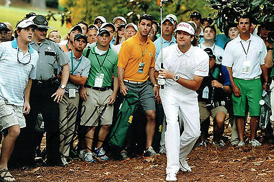 Bubba WATSON Signed Autograph 12x8 GOLF Photo USA Ryder Cup Player AFTAL COA