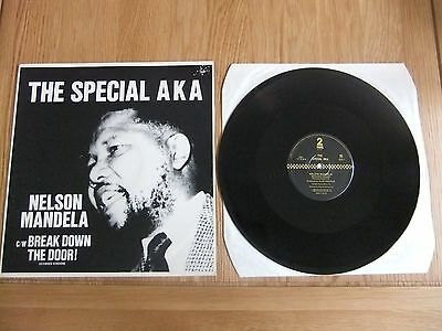 "The Special AKA, Nelson Mandela, 12"" Vinyl Single, VG/VG."