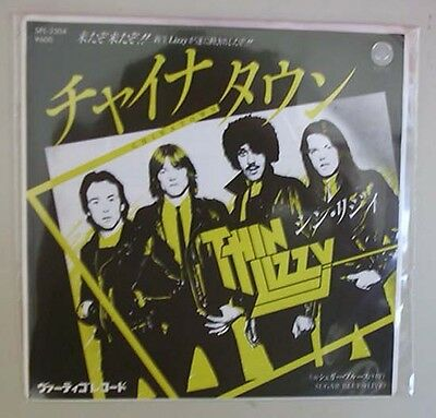 "Thin Lizzy Chinatown 7"" Promo With P/s Japanese"
