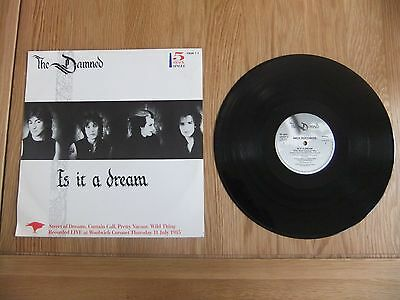 """The Damned, Is It A Dream, 12"""" Vinyl 5 Track Single , VG/VG."""