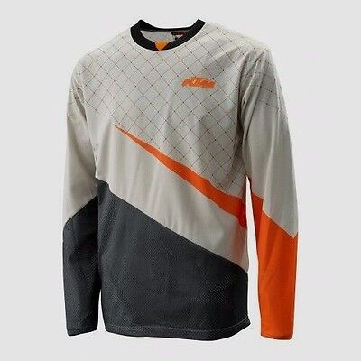 KTM Defender Shirt Stone Off Road Motocross Motorcycle Jersey New RRP £40.42!!