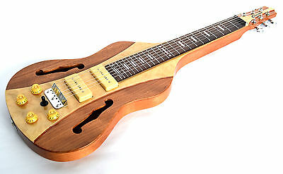 B - Stock Clearwater Lap Steel Guitar Weissenborn Shape Square Neck  - Very Spec