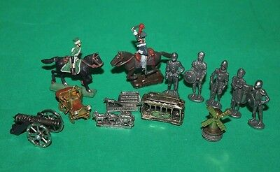 Dolls House Ornaments Soldiers On Horseback Knights Vehicles & More