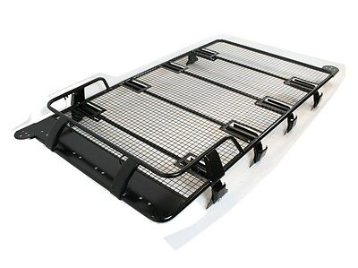 Land Rover Discovery 3 & 4 Troop1 Expedition Heavy Duty Roof Rack With Ladder