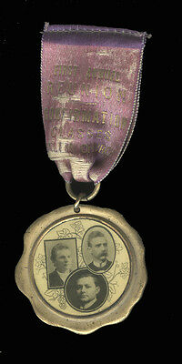 c1912 Medal Ribbon Salem Church German United Evangelical Rochester NY