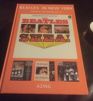 THE BEATLES  -  In New York - Famous Live Shows  - Book -,NEW Condition  / Azing