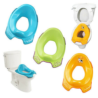 Childrens Toilet Training Seat Potty Train Toddler Kids Portable Adaptor Trainer