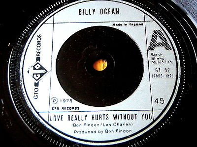 """Billy Ocean - Love Really Hurts Without You  7"""" Vinyl"""