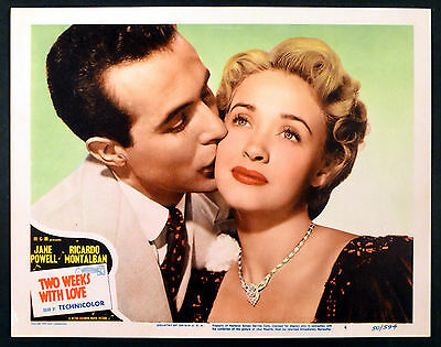 TWO WEEKS WITH LOVE 1950 Jane Powell, Ricardo Montalban LOBBY CARD #4