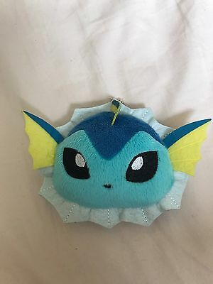 Vaporeon Pokemon Plush Soft Toy Coin Purse Ichiban Kuji Banpresto