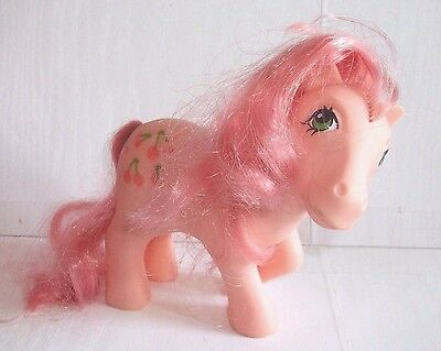 "Vintage My Little Pony G1 Earth Pony "" Cherries Jubilee "" 1984"