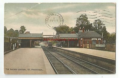 Bucks Great Missenden Railway Station Vintage Postcard