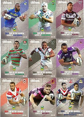 2015 NRL Traders Pieces of puzzle full set of 45 cards