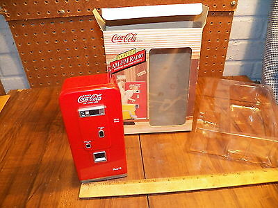 1992 Coca-Cola '55 Style Pop Vending Machine Am-Fm Radio - Nos