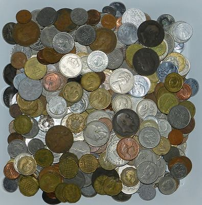 Lot Of 500 Plus  World Coins