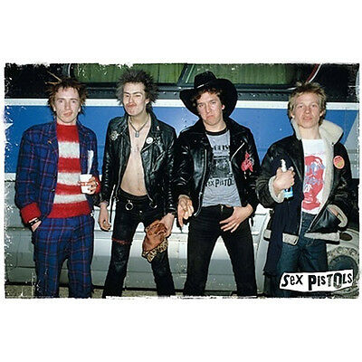 The Sex Pistols Group Wall Poster 24 x 36 - BRAND NEW