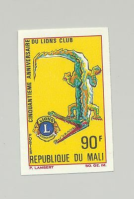 Mali #104 Lions Club, Crocodile 1v Imperf