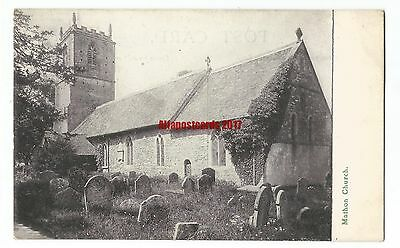 Herefordshire Mathon Church Vintage Postcard 20.6