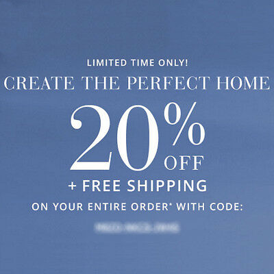 20% Off POTTERY BARN Entire Purchase Promo Code Expires 6/26/17 15 10
