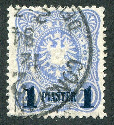 GERMANY Offices  In  Turkish  Empire  4  Very  Nice Used  Issue UPTOWN 27875
