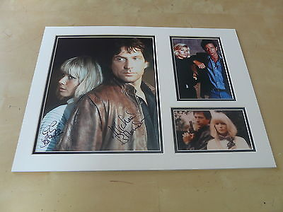 Dempsey & Makepeace Originally Signed 16 X 12 Double Mounted Display Uacc Aftal