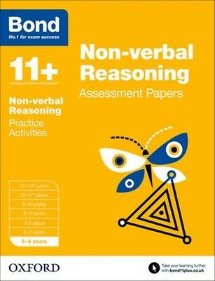 Bond 11+: Non-verbal Reasoning Assessment Papers: 5-6 years (Pape. 9780192742209