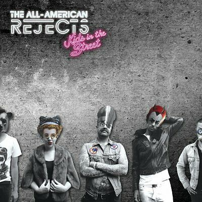 THE All-American Rejects Kids in the Street [Deluxe Edition] (CD, Mar-2012, DGC)