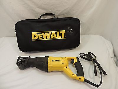 Dewalt Corded V.s. Reciprocating Saw ,1 1/8 Stroke ,12Amp, W/ Soft Case ,#dwe305