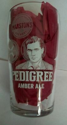 Rare Marston's Pedigree Pint Glass Amber Ale