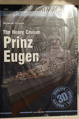 WW2 German Heavy Cruiser Prinz Eugen Super Drawings 3D Reference Book