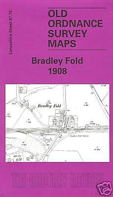 Old Ordnance Survey Map Bradley Fold 1908