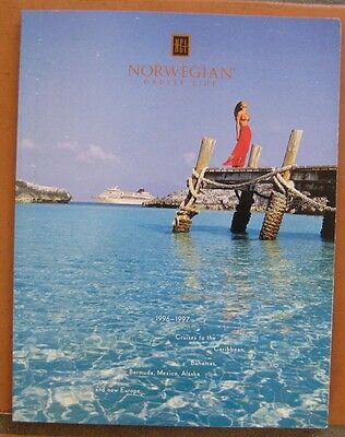NORWEGIAN CRUISE LINE 108 Page BOOK- DECK PLANS , PHOTOS+
