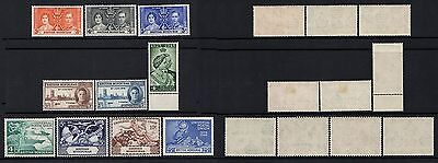British Honduras. Gvi.1937-1949. 3 Sets Of Stamps + 1 Stamp.mnh & M/mint.