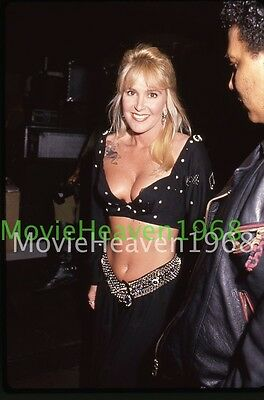 LITA FORD VINTAGE 35mm SLIDE TRANSPARENCY 11655 PHOTO