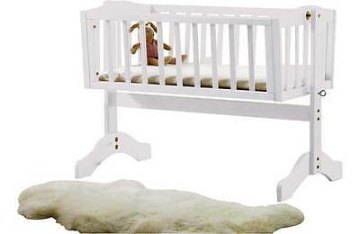 Saplings Bethany Swinging Crib - White. From the Official Argos Shop on ebay