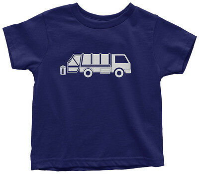 Garbage Truck Toddler T-Shirt Trash Day Birthday Party Theme Gift