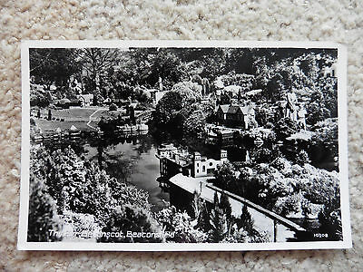 Bekonskot, Beaconsfield Model Village, The Pier, Vintage Real Photo Postcard