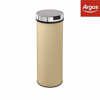Morphy Richards Accents 50L Round Sensor Bin Cream - From the Argos Shop on ebay
