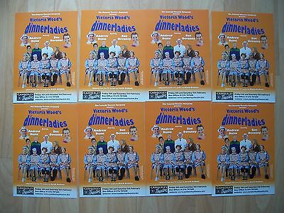 8 flyers for Victoria Wood's Dinnerladies theatre production Camberley