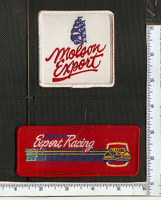 2 Vintage Molson  Canada beer patches in good used conditon.