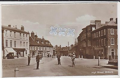 Photo Postcard - High Street, Woburn.