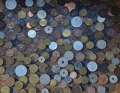 Over 220 Vintage & Antique British / World Coins. Mixed Job Lot 1.5 Kilograms+!