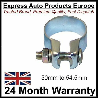 Exhaust Silencer Clamp 50mm to 54.5mm German Strong Strap Type
