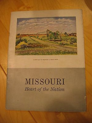 1946 MISSOURI Heart of the Nation Scruggs Vandervoort Barney Collection
