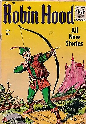 Robin Hood  # 52  1955   Golden Age Comic