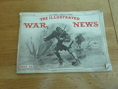 Ww1 1915 March Illustrated War News Original